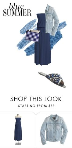 """""""Summer weather"""" by milljcrew ❤ liked on Polyvore featuring Old Navy and J.Crew"""