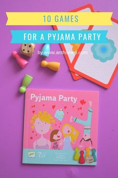 games for a pyjama p Pajama Party, Invite Your Friends, Crafts For Kids, Pajamas, Invitations, Games, Creative, Blog, Diy