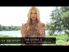 Rachel Zoe On How To Fake A Fresh Manicure | The Zoe Report