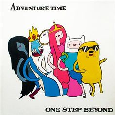 Adventure Time and Madness' One Step Beyond  by Elena de Marcos