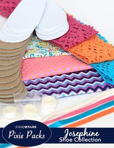 Pixie Packs Josephine Shoe Collection