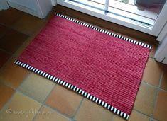 Mattor | Syfröken Weaving Art, Loom Weaving, Hand Weaving, Textiles, Hand Embroidery, Tapestry, Rag Rugs, Nice Things, Carpets