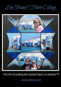 Page created by Sachana Lea France designer using Stained Glass Stencil