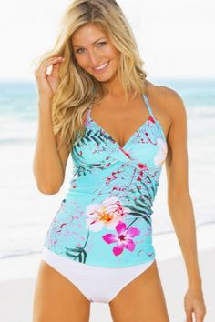 43f05f779260a Flaunt your curves in HAPARI's Rio Twist Tankini Top. Perfect for a day at  the