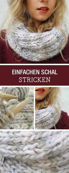 Start with a knit. have for you a beginner knitting pattern for a simple scarf / start knitting easy diy tutorial for a loop scarf via. Beginner Knitting Patterns, Knitting Stitches, Knitting Socks, Crochet Patterns, Knitting Scarves, Easy Patterns, How To Start Knitting, Learn To Crochet, Knit Or Crochet