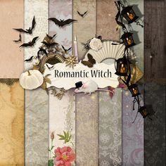 Scrap Kit in NeareStore - Romantic Witch (papers)