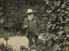 Monet in his garden. I've never cared much for his word in PRINT. But his work in person is amazing, and all those prints need to be thrown away.