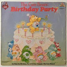 The Care Bears Birthday Party LP Vinyl Record Album Kid