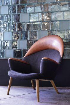 Hans Wegner easy chair (model JH521), circa 1953.