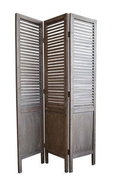 Wooden Screen Shutter Style : Bookshelves & Large Cabinets : C.C. Interiors Product Catalogue