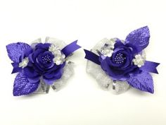 Wired Ribbon Hair Bows - Make a hair bow using large width wired ribbon and add some fun bling to really jazz-it-up! These style bows are perfect for any age and would be great for weddings, formal occasions, proms, or anytime you want to add a little glam to your hair!
