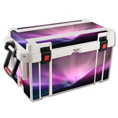 MightySkins Protective Vinyl Skin Decal for Pelican 65 qt Cooler wrap cover sticker skins Spaced Out ** You can find out more details at the link of the image.(This is an Amazon affiliate link and I receive a commission for the sales)