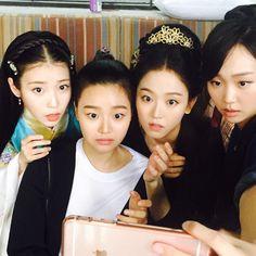 Baekhyun Moon Lovers, Iu Moon Lovers, Moon Lovers Drama, Scarlet Heart Ryeo Funny, Scarlet Heart Ryeo Cast, Joon Gi, Lee Joon, Iu Twitter, Weightlifting Fairy Kim Bok Joo