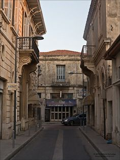 Old Town Limassol, beautiful old architecture.