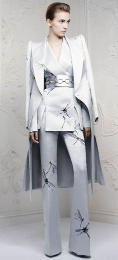 Alexander McQueen's Pre spring / summer 2013 collection Dragonfly Dress