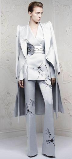 Alexander McQueen's Pre spring / summer 2013 collection Dragonfly Dress