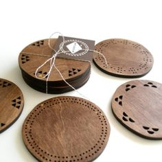 So simple Maple coasters