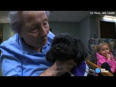 When the Alarm Goes Off, This Poodle Can't Wait to Check On Her Nursing Home Patients - Happify Daily