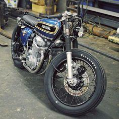 Honda CB 750 550 Cafe Racer Classic Bobber Motorcycle