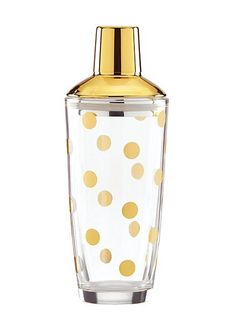 two of a kind gold dot shaker | Kate Spade New York
