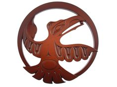 Trivet from Recycled Glass - Raven
