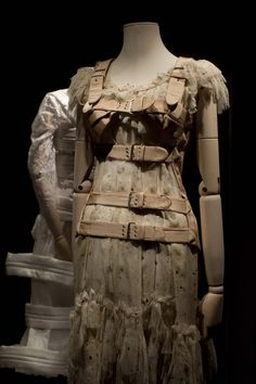 Dresses that belonged to the late Mexican artist Frida Kahlo are displayed at the Frida Kahlo museum in Mexico City