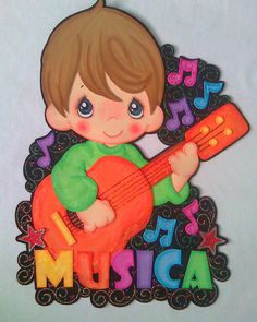 Área de música, decorado en foami Foam Crafts, Diy And Crafts, Crafts For Kids, Paper Crafts, Preschool Classroom, Classroom Activities, Merian, Kids Scrapbook, Decorate Notebook