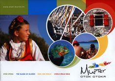 The Island of Islands/ Insel der Inseln/ L'Isola delle Isole; Sibenik-Knin co. Travel Brochure, World Traveler, Islands, Croatia Travel, Explore, Country, Life, Collection, Croatia