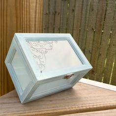 Shabby Chic! A personal favorite from my Etsy shop https://www.etsy.com/listing/226171697/shabby-chic-distressed-beach-decor-boxes