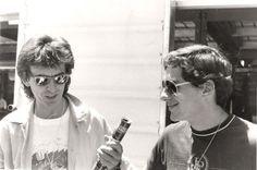 Ayrton Senna e George Harrison