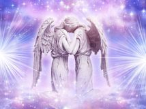 Angel love Royalty Free Stock Photos