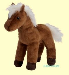 Douglas Mr. Brown CHESTNUT HORSE Plush Stuffed Pony Animal Cuddle Toy NEW #DouglasCuddleToy