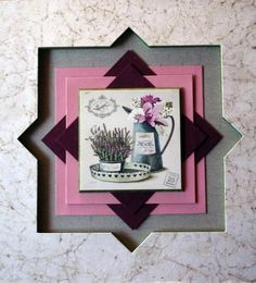 Photo L'Atelier de Martine en Provence Picture Frame Crafts, Picture Frames, Scrapbook Templates, Custom Framing, Photos, Pictures, Framed Artwork, Origami, Art Deco