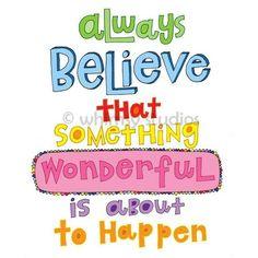 always always always!