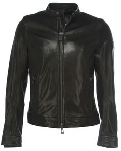 Belstaff Lederjacke GRANSDEN Schwarz at Stierblut #Belstaff #Leather #Black #Jacket #Stierblut