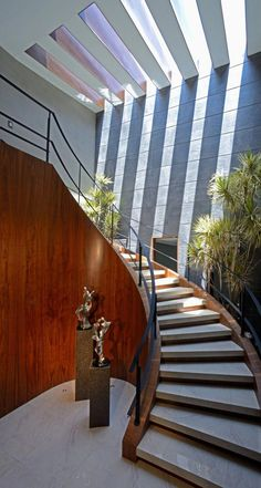 48 Inspiring Natural Home Light Architecture Design. Our home lighting usually depends on artificial lights. Architecture Design, Light Architecture, Rustic Lighting, Lighting Design, Blitz Design, Escalier Design, Interior Design Boards, Light In, Modern Stairs