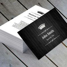 Screenplay black business card wood texture business card find this pin and more on business card design black wood grain reheart Gallery