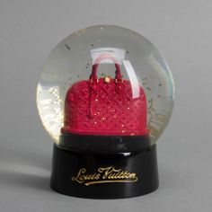 Louis Vuitton Limited Edition VIP Alma Snow Globe I in Red