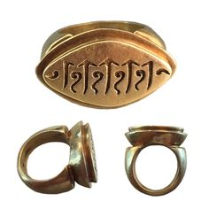 A Solid Gold Ring, Central Javanese 9th – 10th Century SOLD