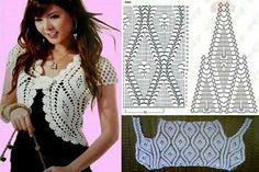 Crochet pattern stitch women