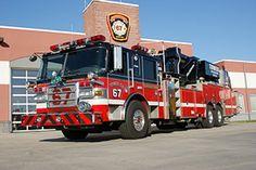 Pierce Arrow XT Mid-Mount Aerial Tower 67 Rohrerstown Fire Company