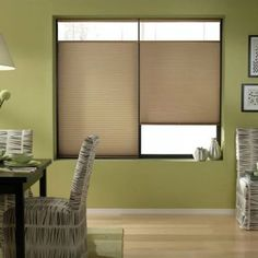 Antique Linen 69 to 69.5-inches Wide Cordless Top Down Bottom Up Cellular Shades (69W x 80H Antique Linen), Brown (Polyester)