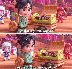 Wreck-it-Ralph! I have Gixslexia, If you have it too comment below!