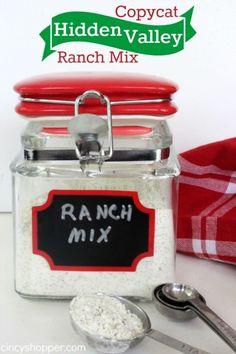 Copycat Hidden Valley Ranch Mix Recipe 1