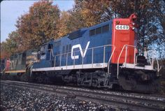 CENTRAL VERMONT  GRAND TRUNK WESTERN  GP9  4449  PUTNEY, VT  JAN/89