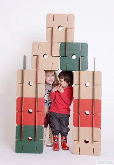 Pakamera.pl - speelgoed - Rest - pads met karton