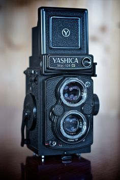 Yashica MAT-124G. Just developed the first film I shot with this camera and I'm really impressed with it.