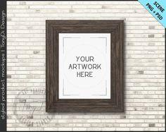 99cbc5cfc4c2 A4 21x30cm Frame on White Background Mockup W5