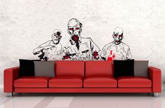 ¡Los zombies han llegado a tu pared!
