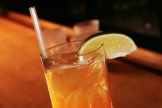 """In 2004, William L Hamilton waxed poetic about the Dark and Stormy, describing it both as """"a drink traditionally associated with sailing and the manly habit of appearing to keep one's balance while determinedly losing it"""" and as """"a spicy and spritzed two-legged, walk-the-decks kind of drink with a lime wedge perched at the top like a pirate's parrot."""" This version, adapted from Red Sky, a restaurant on Mount Desert Island in Maine, uses a combination of Gosling's Black Seal rum and AJ..."""